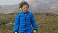 Co Down boy, 11, with autism running socially-distant marathon over a week for charity