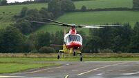 Service has no funds for air ambulance