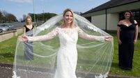 Bride won't let Covid-19 stop her from saying yes to the dress