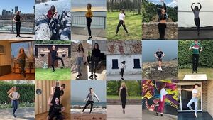 Watch the cast of Riverdance dance together from their homes across the world