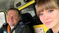 Father and daughter ambulance workers urge public to 'hang in there'