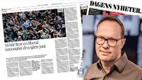 GRAPEVINE: Covid-19 driving record levels of online news readership in Sweden