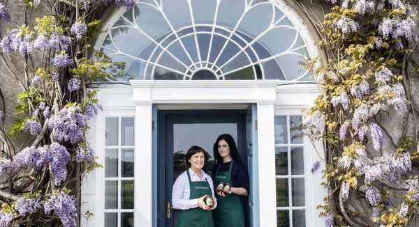 Yasmin and Maxine Hyde of Ballymaloe Foods announcing a deal with Australian retail giants Coles to start supplying its Ballymaloe Relish product to their stores. Picture Clare Keogh