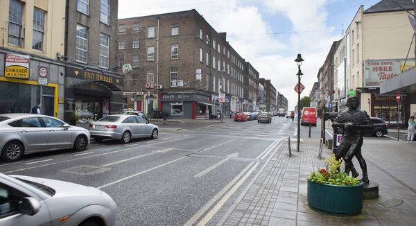 Limerick's O'Connell Street. A survey of businesses in Munster found that 66% have implemented spend reductions to ensure the viability of their businesses. Picture Dan Linehan