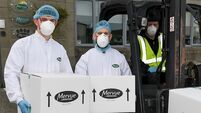 Irish Distillers deliver 50,000 bottles of hand sanitiser to the HSE