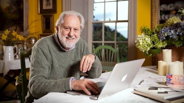 From his West Cork office, David Puttnam works with a 70-strong international school group — he reports an overwhelmingly positive response from parents to the online component of their children's education.