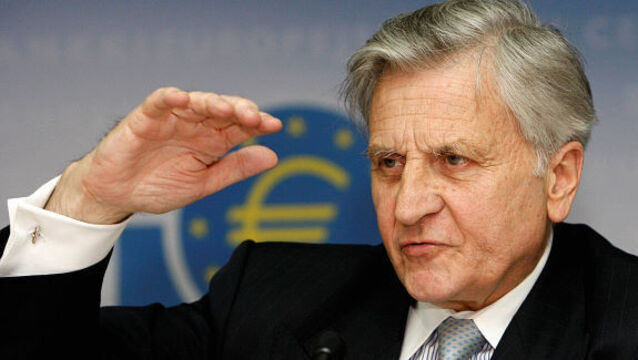 "Jean-Claude Trichet: warned Finance Minister Michael Noonan that ""a bomb would go off in Dublin"""