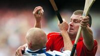 Hurling Hands: Diarmuid O'Sullivan - 'I broke Patrick Horgan's hurley over my knee and threw the two pieces up into the stand'