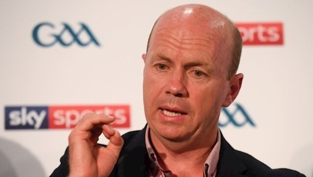 We took our lead from the GAA up here, says Canavan