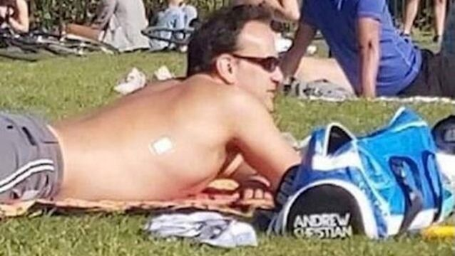 Leo Varadkar pictured in Phoenix Park, Dublin last weekend.