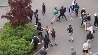 Calls for parents to 'step up' after Mount Oval mass teenage brawl