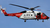 Coast Guard helicopter missing
