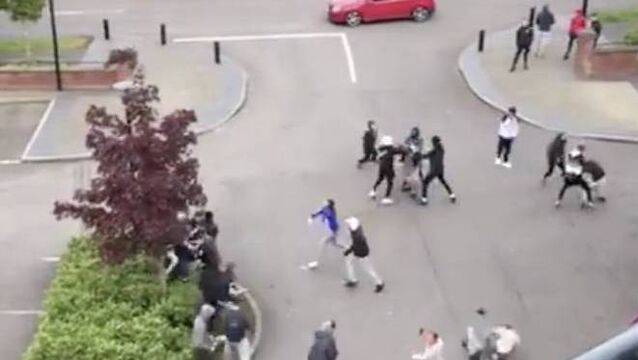 Brawl offenders will be identified using CCTV and social media videos