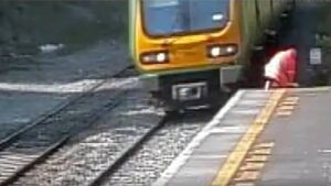 Irish Rail engineer dodged speeding train with a second to spare