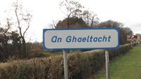 Government formation talks focus on Irish language