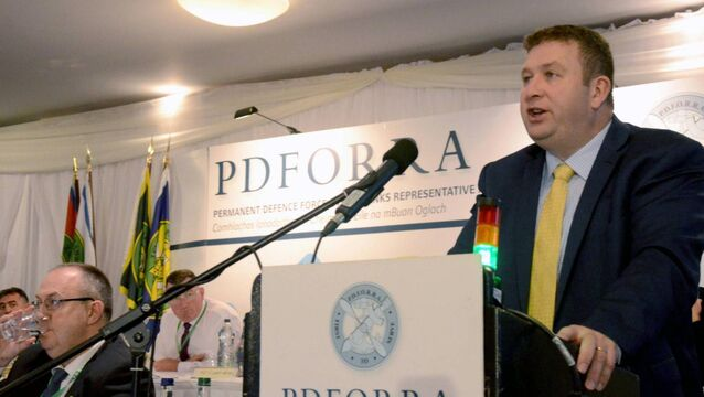 PDFORRA lodges complaint with European Social Rights Committee on ICTU affiliation issue