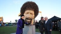 Two men arrested in relation to vandalism of Luke Kelly statue