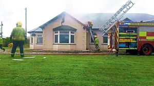 Limerick family lucky to escape as freak lightning strike sets roof on fire