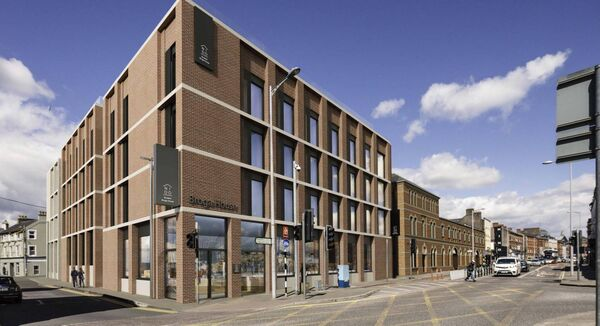 Artist impression of the Square Deal / Washington Street development. Supplied by Digital Dimensions.