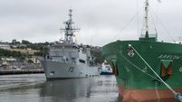 HSE told Navy that LÉ Eithne could become floating morgue during Covid-19 crisis