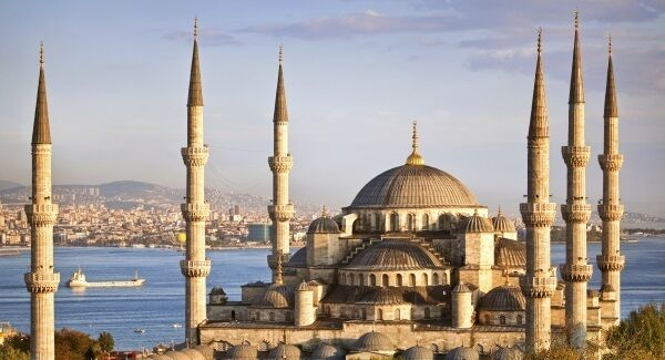 The 'Blue Mosque' in Istanbul