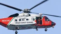 Man taken to hospital by helicopter after cliff fall in Donegal