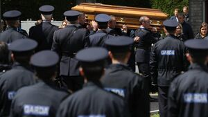 Colm Horkan funeral: A thin blue line, bowed by grief but unbroken, links the nation