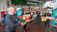 Celebrations at Cork service station that sold €7m Lotto ticket