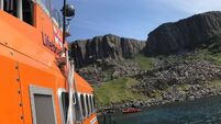 Man dies after cliff fall in Co Antrim