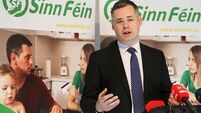 Pearse Doherty taken to hospital 'as a precaution' after suffering back spasm at Leinster House