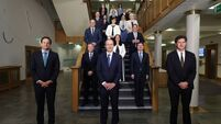 New cabinet to meet for the first time today