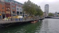 Person rescued from River Liffey