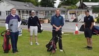 Players tee-off on marathon 117 golf round to rebuild fire hit Kenmare clubhouse