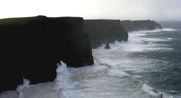 The Cliffs of Moher. Picture: PA