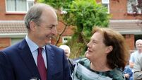 Family and friends welcome Taoiseach Micheál Martin home to Cork