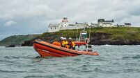 Lough Derg RNLI rescue four from 32ft cruiser that ran aground