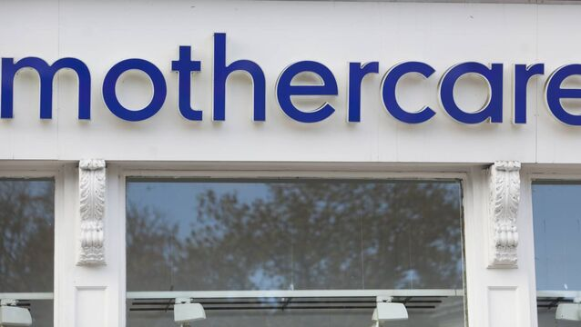 Mothercare enters liquidation in Ireland closing all its stores