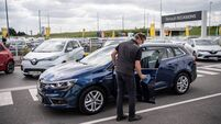 European car sales show first signs of recovery