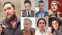 'Don't be macho' - men put on make-up to encourage others to talk about problems