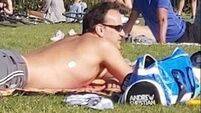 Former Taoiseach's shirtless picnic attracts mixed reaction
