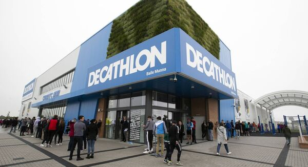 Decathlon eyes Cork and Galway after the success of its June 2020 Ballymun store opening. Photo: Sam Boal/Rollingnews.ie