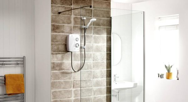 Triton's choice in electric showers offer full thermostatic control, silent running and 9kW powered flow rates for low pressure installation from as little as 1.5kW per ten minute shower. Your plumber only needs to access the cold water supply. From €129, tritonshowers.ie