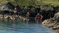 Update: Teen escapes serious injury after fall into cave off Cork island
