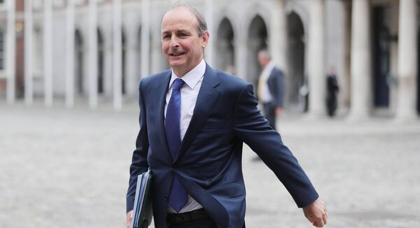 Taoiseach Micheál Martin faced questions on housing and health today in the Dáil. The main issues of the general election firmly back on the agenda.