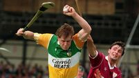 Hurling Hands: Daithi Regan - 'I had five hurleys and I intended using every one. Back then the more hurleys you broke, the better'