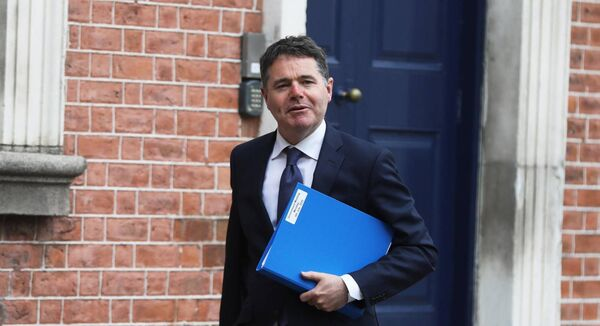 Ireland's finance minister Paschal Donohoe is one of three candidates up for the job of Eurogroup president. Picture: Leah Farrell/Rollingnews.ie