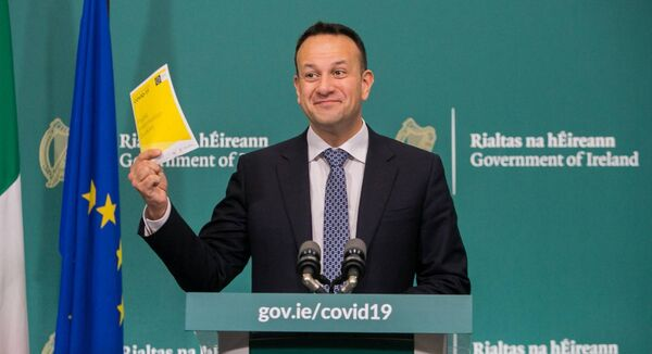 An Post delivered the English version of the Covid-19 information booklet for free but postage for the Irish edition cost nearly €100,000. Picture:Gareth Chaney/Collins
