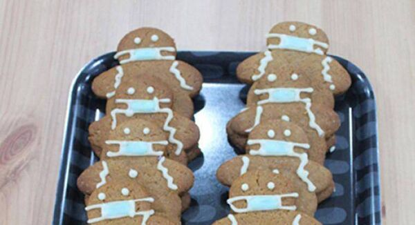 The 'masked' gingerbread men have been selling like hotcakes since Meath baker Jenny Murray added them to the menu.