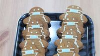 Gingerbread men with face masks selling 'like hot cakes' at Meath bakery