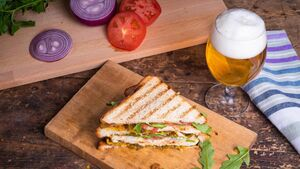 It Raines and pours: Buying a sandwich to have a beer isn't a new phenomenon